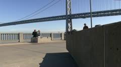 Embarcadero, Bay Bridge Stock Footage