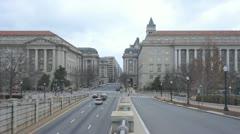 Washington DC downtown Stock Footage