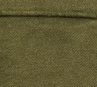 cotton fabric texture - olive green with seams - stock illustration