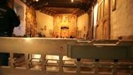 Man worship church new mexico Stock Footage