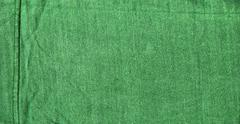 Cotton fabric texture - green with seams Stock Illustration