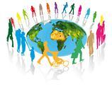 World communication Stock Illustration
