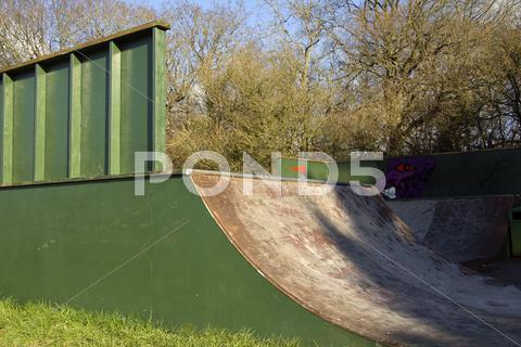 Stock photo of Skate park