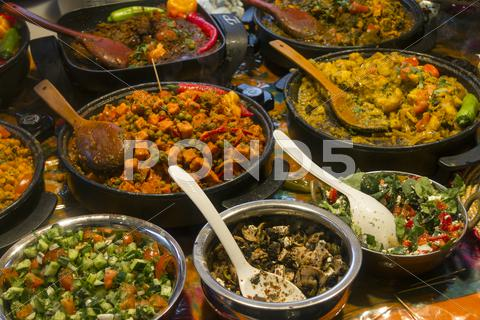 Stock photo of Brick Lane food