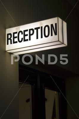 Stock photo of Reception