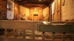 El santuario de chimayo church new mexico Stock Footage