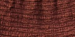 cotton fabric texture - squiggly brown - stock illustration