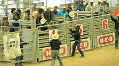 Bull Riding Stock Footage