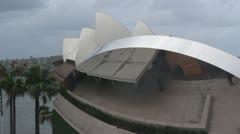 Anish Kapoor art, Sydney Opera House (1) Stock Footage