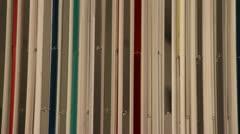 Modern art stripes (1) Stock Footage