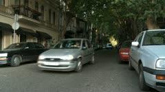 Georgia TbilisiOldtown Stock Footage