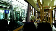 Luas Red Line 6 Stock Footage