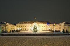 schloss bellevue in berlin - stock photo