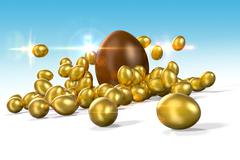 Easter Eggs 2 - stock illustration