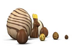 Easter Eggs 5 - stock illustration