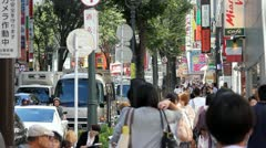 Streets of Tokyo 3 - stock footage