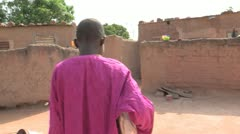 Burkina Faso: Going to School Stock Footage