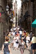 Barcelona, spain. Stock Photos