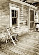 front porch - stock photo