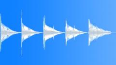 Marimbic simple advance ding Sound Effect