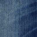 Stock Photo of high resolution scan of blue denim fabric..scanned at 2400dpi using a profess