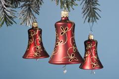 Christmas tree design logo pattern decoration Stock Photos