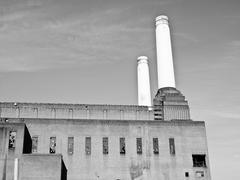 battersea powerstation london - stock photo