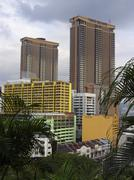 house asia centre city view day living metropole - stock photo