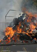Danger fear flame grey heat smoke threat fire Stock Photos