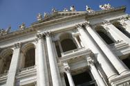 Stock Photo of europe european facade italian roman san in