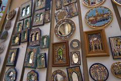Stock Photo of art colorful mosaic picture colourful mosaics