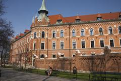 building old town sight kanonicza monumental - stock photo