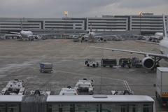Airport aviation traffic paris france europe Stock Photos