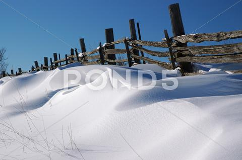 Stock photo of pattern winter blue dune mold shadow sky split