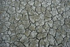 Aridity ground dried up soil burgenland crannies Stock Photos
