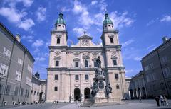Stock Photo of cathedral religious community sight domplatz