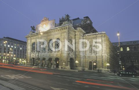 Stock photo of art culture state opera evening picture building