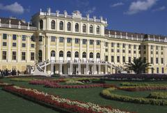 citadel sch nbrunn castle sight building - stock photo