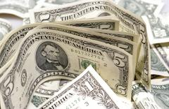 Rahaa bill dollari tarkoittaa maksamista usd rikkaus muistiinpanot Kuvituskuvat