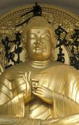 asia buddha pagoda pray statue belief buddhism - stock photo
