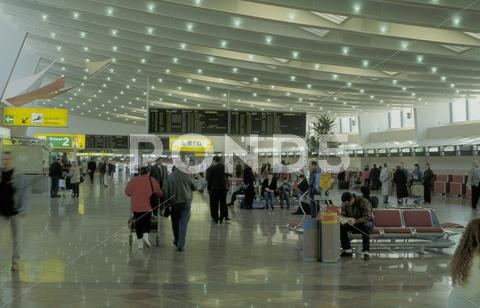 Stock photo of business airport trip hall holiday travel vienna