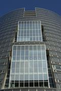 House office glass fassade modern skyscraper Stock Photos