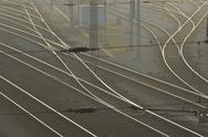 Stock Photo of austrian federal railways railway rail track bb
