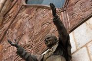 Closeup Basilica Statue Stock Photos