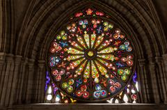 Stained Glass Details Stock Photos