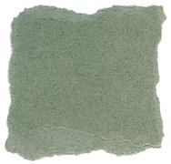 Fiber paper texture - green with torn edges Stock Illustration