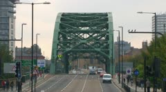 Wearmouth Bridge Stock Footage