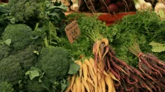 Nutritional Organic Food - stock footage