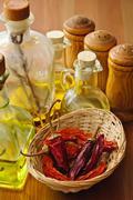 condiments - stock photo