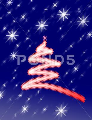 Stock Illustration of christmas background with ornaments